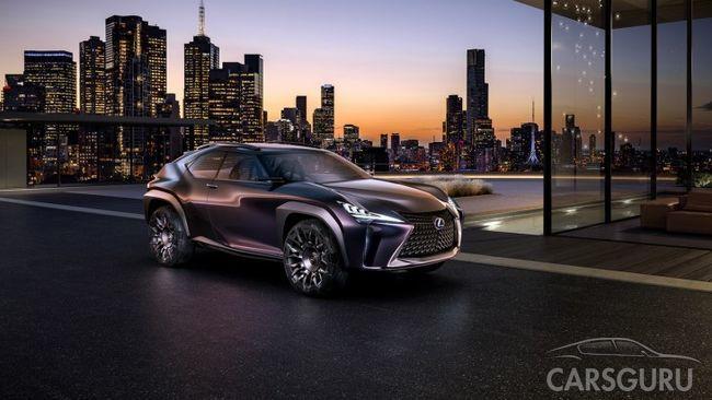 Самый доступный кроссовер от Lexus покажут в Женеве в марте