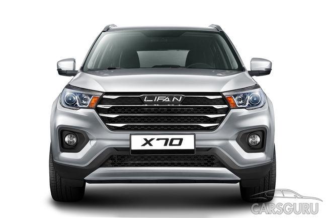 Весной начнутся продажи нового Lifan X70