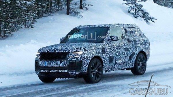Кросс-купе Range Rover Coupe проходит испытания
