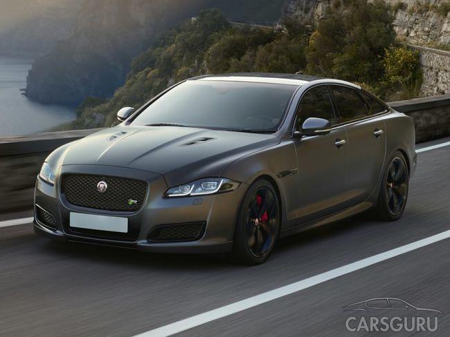 Jaguar превратил XJ в элетрохэтчбек