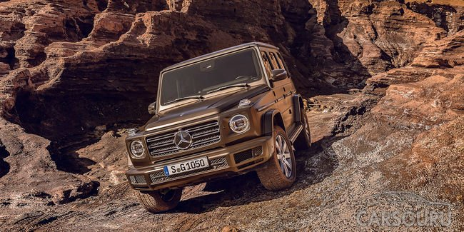 Состоялся показ нового поколения Mercedes-Benz G-Class