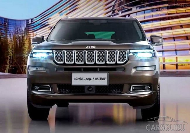 Jeep представил первые фото новинки Grand Commander
