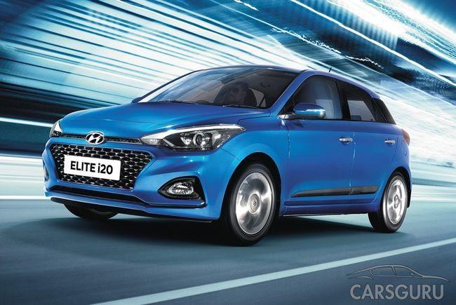 Hyundai i20 обзавелся новым экстерьером