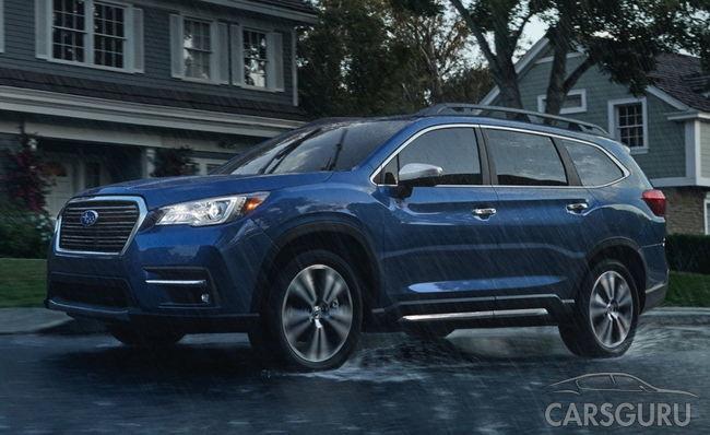Subaru Ascent – новый восьмиместный кроссовер. Цены