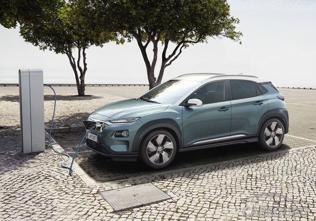 Мини-кроссовер Hyundai Kona обзаведется электротягой