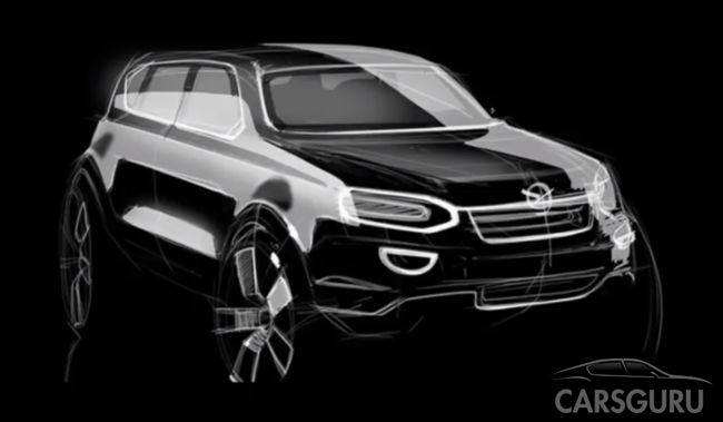 УАЗ подготавливает производство для компактного кроссовера 3170