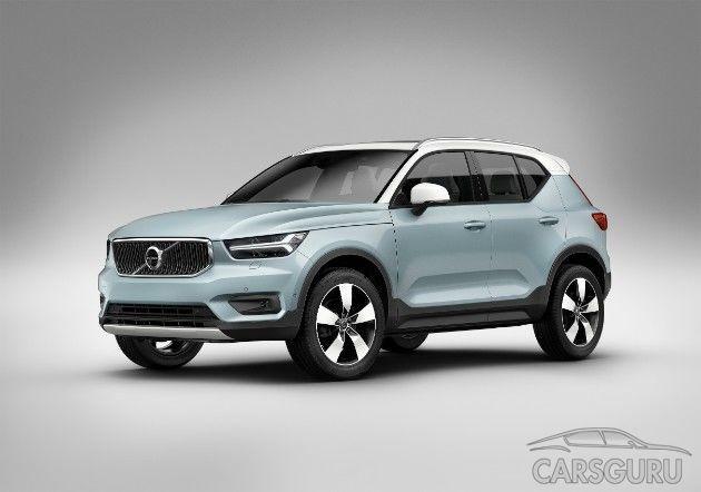 Состоялся анонс Volvo XC40. Известны сроки поставки правых авто в РФ