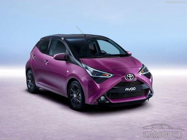 Состоялась официальная презентация хэтчбека Toyota Aygo