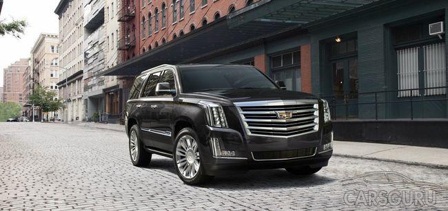 В России начались продажи обновленного Cadillac Escalade