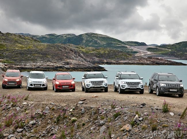 Лидером на российском рынке в 2017 году стал сегмент SUV