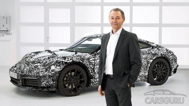 В Сети появились первые официальные снимки Porsche 911