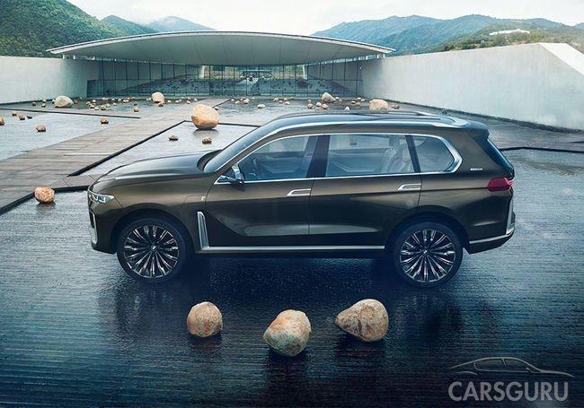 Россияне, китайцы и американцы получат крутой BMW X7