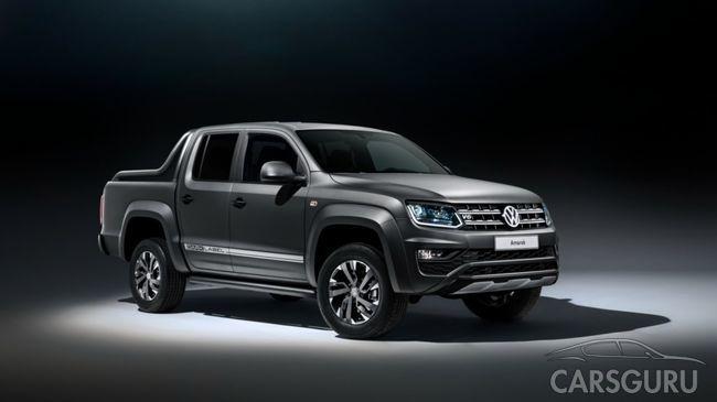Volkswagen представил в России специальную версию пикапа Amarok