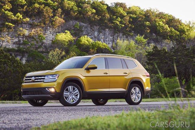 Представлен Volkswagen Teramont для России