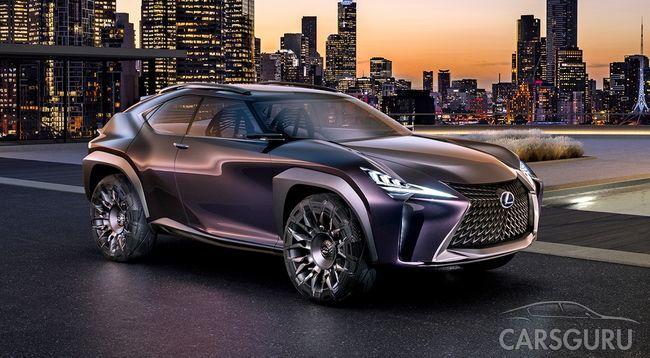 Дебют нового кроссовера Lexus назначен на март