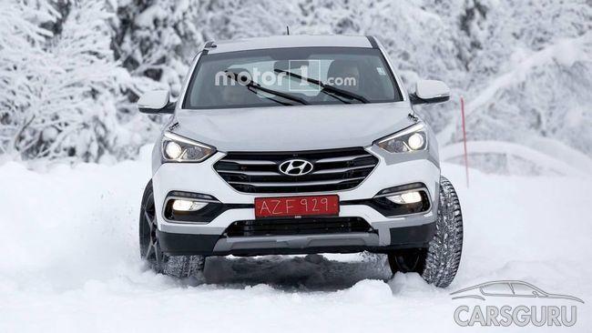 Hyundai тестирует новый премиум внедорожник Genesis