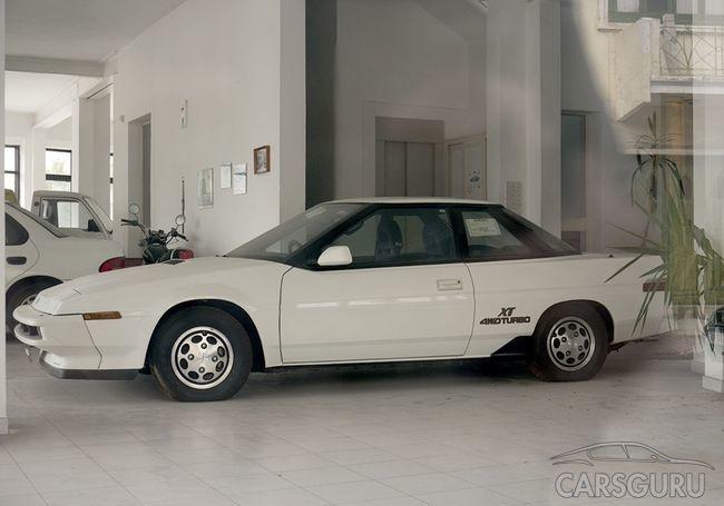Subaru из 90-х. Забытые авто в салоне