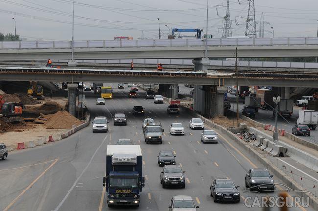 Несколько магистралей Москвы обзаведутся дополнительными полосами в ближайшее время