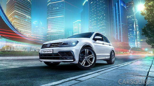 Tiguan Sportline – Volkswagen со спортивным характером