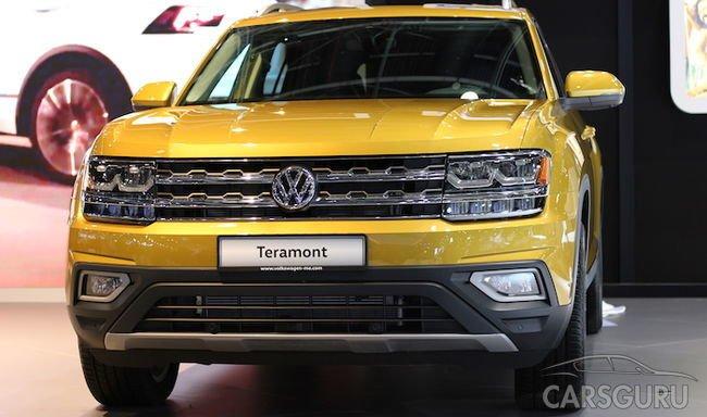 Volkswagen рассказал о российской версии кроссовера Teramont