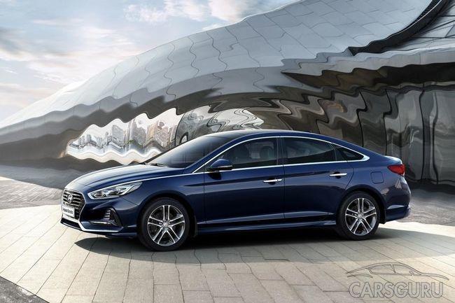 Hyundai Sonata возможно вскоре будет выпускаться в России