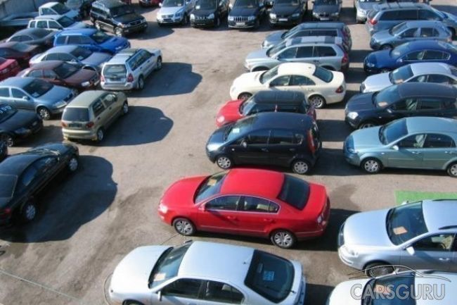 Десятка самых выставляемых на реализацию автомобилей по итогам января 2018