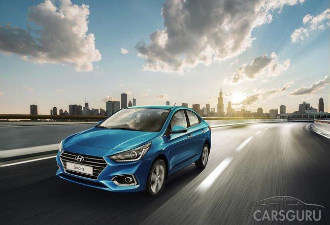 Hyundai планирует выпустить электрокар на базе Solaris
