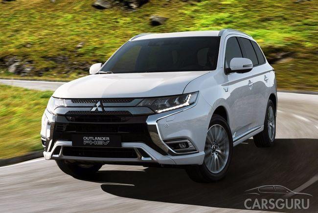 Mitsubishi представила публике обновленный кроссовер