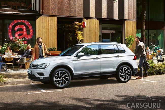 Volkswagen выпустил Tiguan City