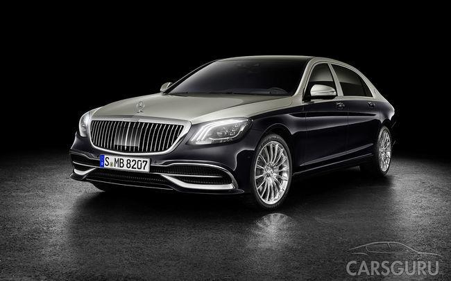 Представлен обновленный седан Mercedes-Maybach S-Class