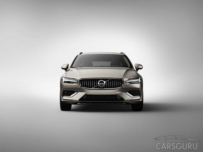 Volvo разработал семейный универсал. Фото