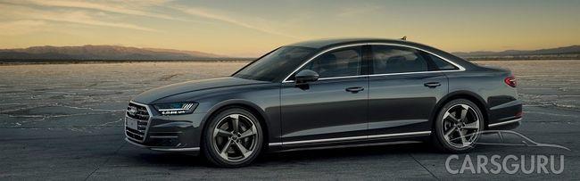 Есть он и все остальные. Абсолютно новый Audi А8 в АЦ Волгоградский