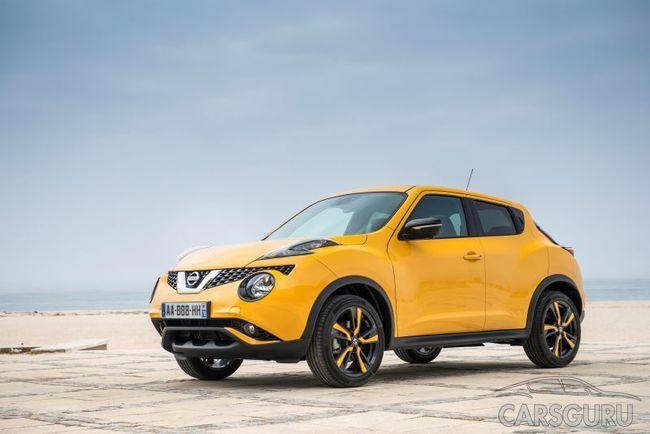 Nissan Juke прибавил на 12 000-13 000 рублей