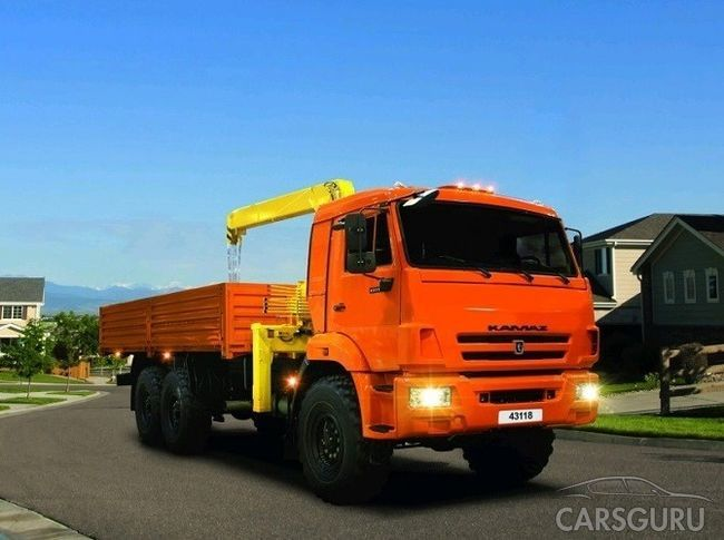 Названа ТОП самых продаваемых грузовиков в РФ