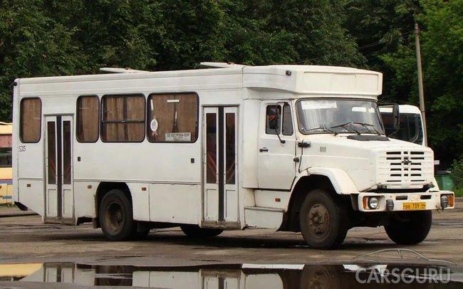 Самые странные автобусы из СССР