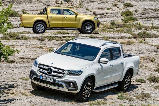 Mercedes-Benz X-Clas скоро будет продаваться в России