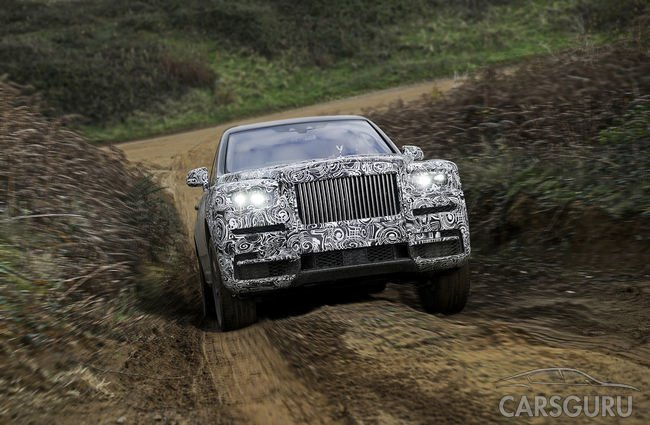 Rolls-Royce подтвердил название кроссовера Cullinan