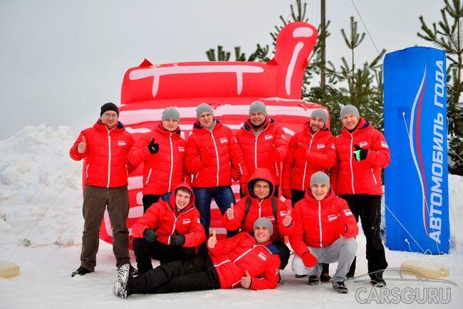 Российские водители прошли соревнования в рамках конкурса на определение машины года