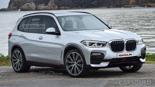 Первые рендеры BMW X5 уже в Сети