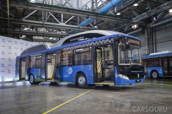 «Группа ГАЗ» продемонстрировала новый электробус