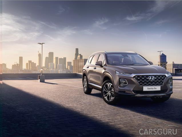 Hyundai Motor представляет первые изображения кроссовера Santa Fe
