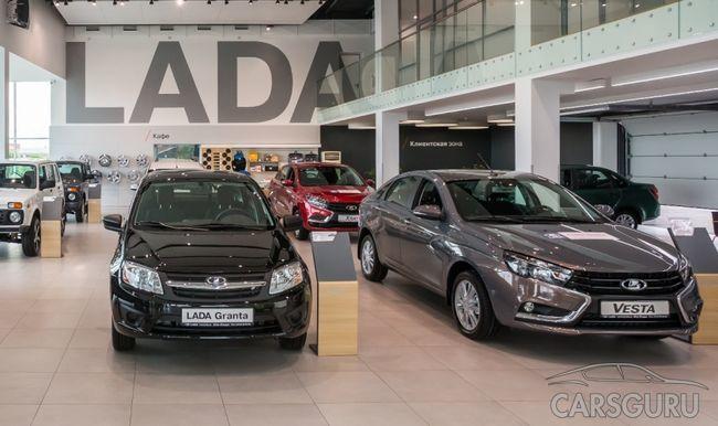 LADA Vesta возглавила ТОП-10 самых продаваемых моделей авто в России