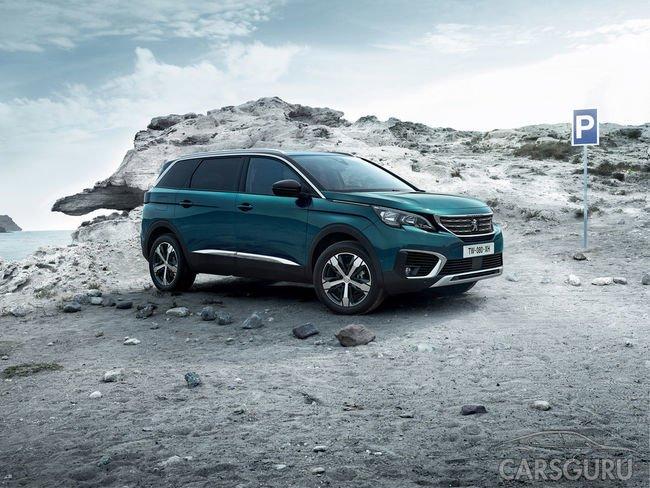 Старт продаж кроссовера нового поколения Peugeot 5008