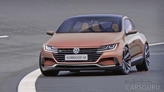 Хотите знать, как будет выглядеть купе Volkswagen Scirocco?
