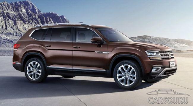 Известна дата начала реализации в РФ Volkswagen Touareg и Volkswagen Teramont