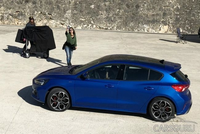 Первое фото нового Ford Focus. Теперь без камуфляжа