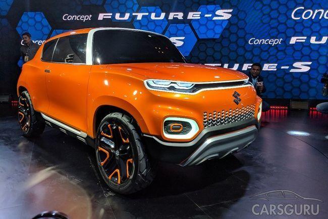 Suzuki представила новый кроссовер Future-S