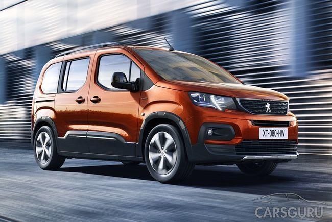 Peugeot представил новый Rifter. И он больше чем Partner. Фото