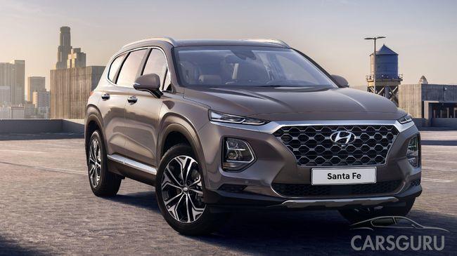 Кроссовер Hyundai Santa Fe 2019. Новое видео