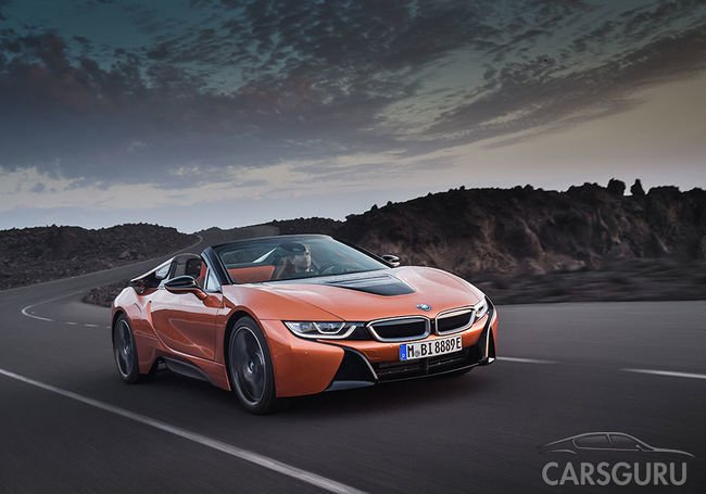 Озвучена стоимость на BMW i8 Roadster и BMW i8 Coupe для России. Видео